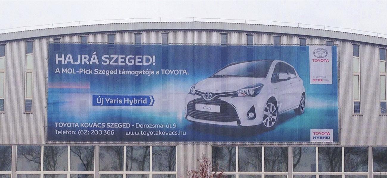 Toyota épületháló