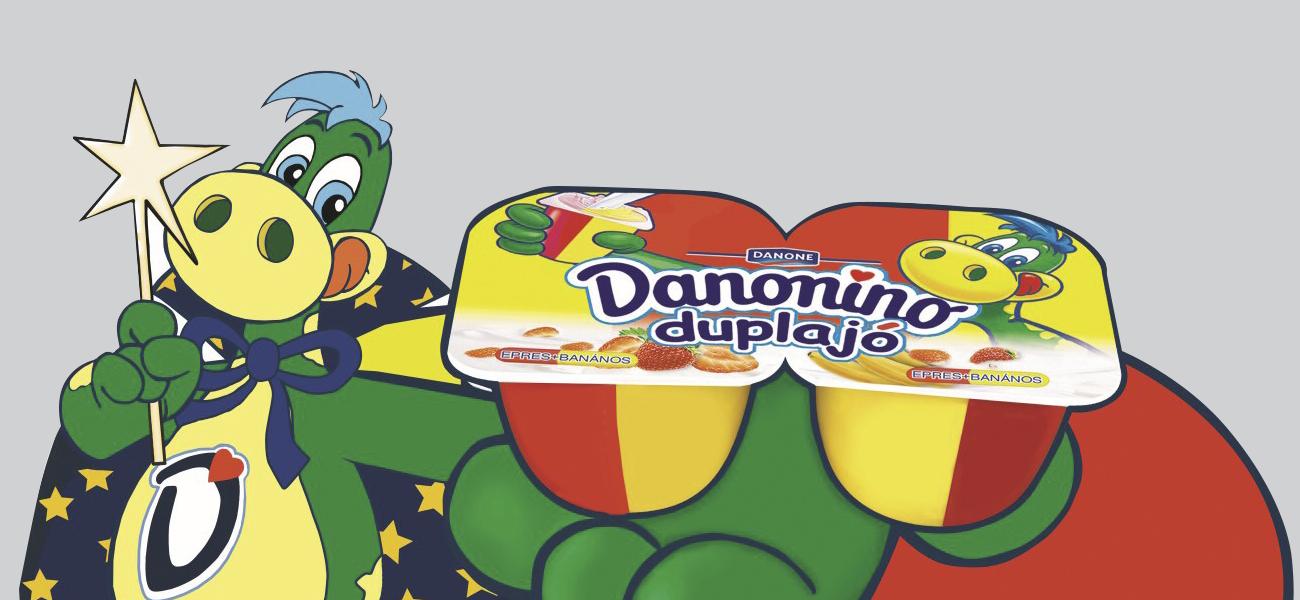 Plafon belógó, Danonino