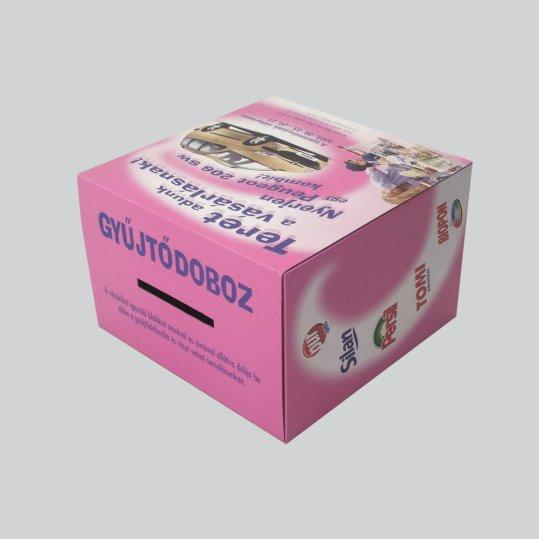 Szelvény gyűjtő doboz