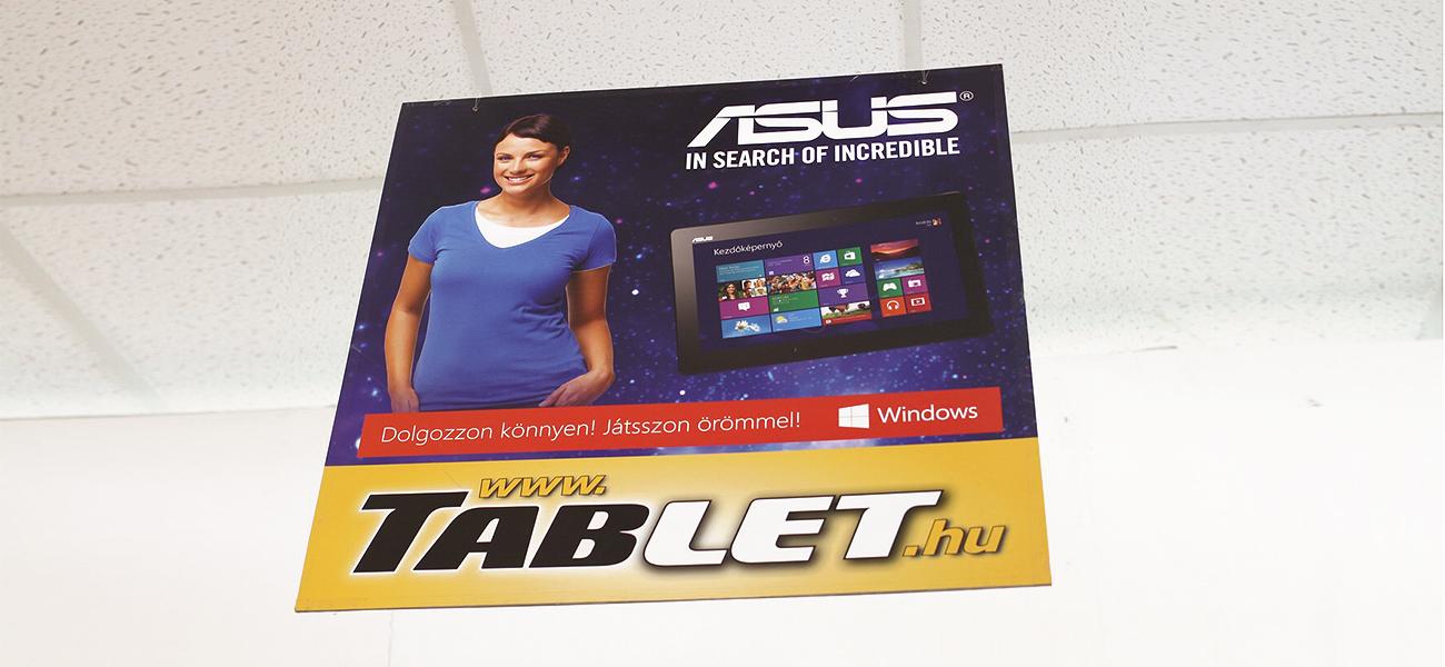 Plafon belógó - tablet