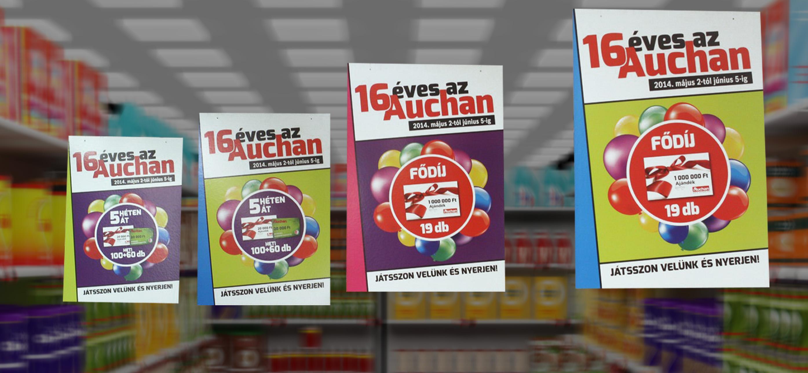 Auchan plafon belógók